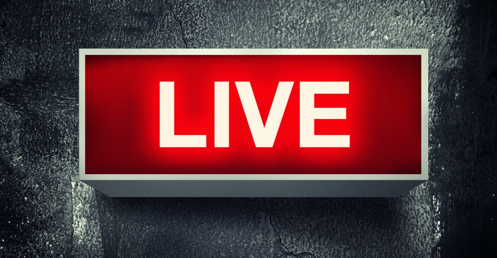Live content!